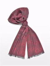 Calvin Klein Women's Red Ck Logo Scarf - $21.00