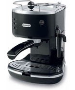 DeLonghi ECO310BK 15-Bar-Pump Espresso Machine, Piano Black - €114,39 EUR