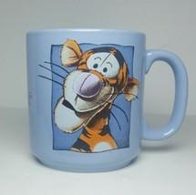 Vintage Walt Disney Classics - Winnie the Pooh - Tigger - Periwinkle Coffee Mug - $21.46