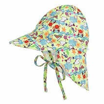 Baby Boys Girls Cute Sun Hat Toddler Adjustable Summer UPF 50+ Sun Prote... - $14.36
