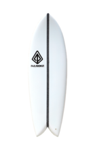 "Paragon Retro Fish 6'0"" Surfboard - White Carbon EPX2 - $400.00"