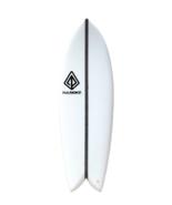 "Paragon Retro Fish 6'0"" Surfboard - White Carbon EPX2 - $400.00"