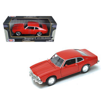 1974 Ford Maverick Red 1/24 Diecast Car Model by Motormax 73326R - $32.52