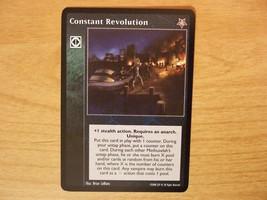 Constant Revolution (VTES- Twilight Rebellion) - $15.00