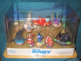 Disney Store Finding Dory Deluxe 9 Piece Playset Figurine Cake Topper New - $24.20