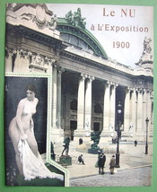 NUDE Buildings at Paris Exposition of 1900 - 2 PRINTS Color Lichtdruck - $16.20