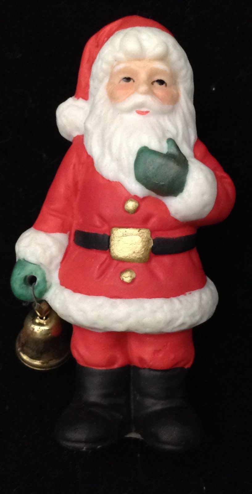 Vtg Lefton Santa Wth Bell Colonial Village 2 And Similar Items