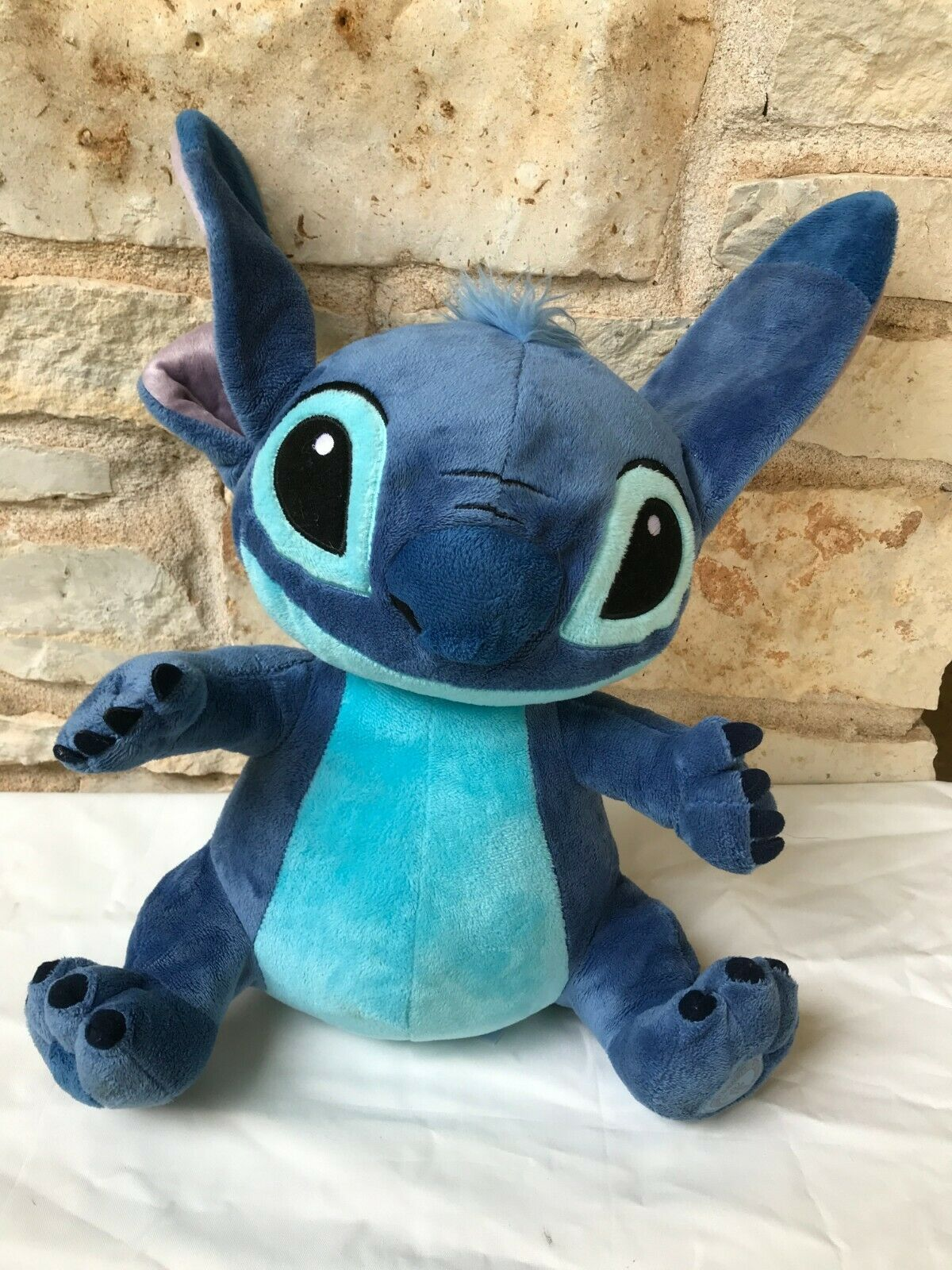 "Primary image for Disney Store Authentic Stitch Plush Doll Medium 16"" Lilo & Stitch Toy"