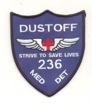 Us Army 236th Dust Offmed Det Patch New!!! - $11.87