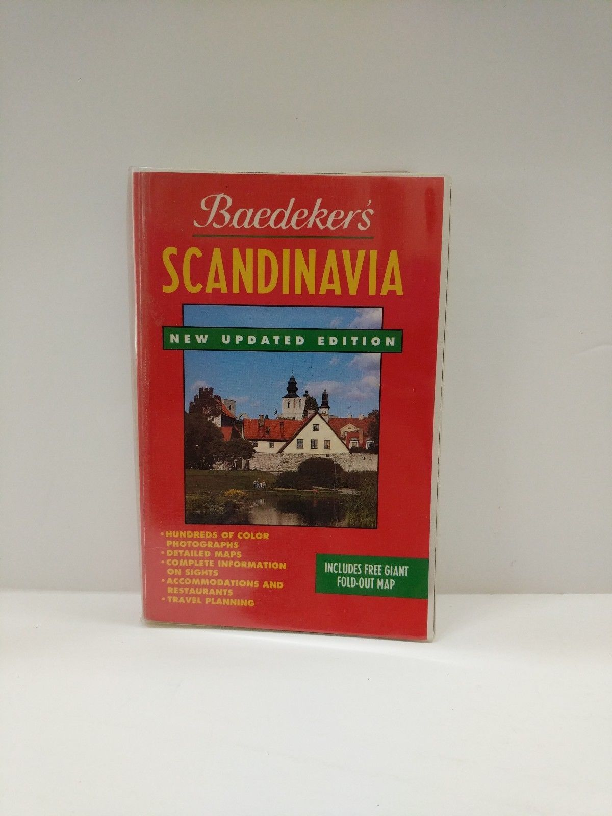 Baedeker Scandinavia: Norway Sweden Finland/Book a