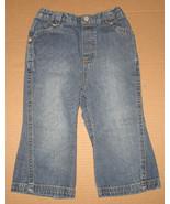 Girls 18 mth Wonderkids Blue Jeans (CS48) - $2.00