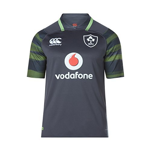 Canterbury Ireland Rugby Vapodri+ SS Alternate Pro Jersey, Small