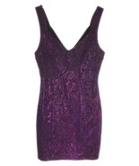 Forever 21 Size M Sexy Sleeveless Pink Black Shimmer Mini Dress Juniors ... - $29.99
