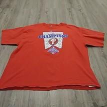 Majestic Philadelphia Phillies 2008 World Series Champions MLB T-Shirt XXL - $16.85