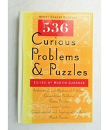 536 CURIOUS PROBLEMS AND PUZZLES by Henry Ernest Dudeney 1995 HC book VE... - $12.00