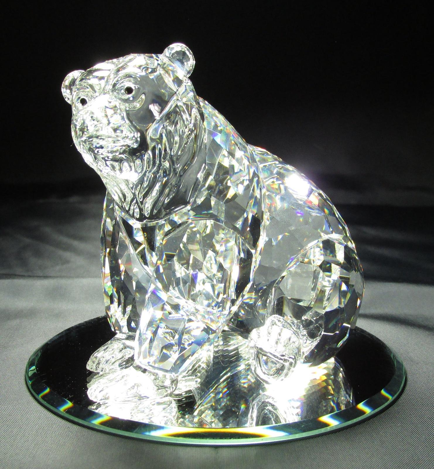 f90361b47 Swarovski Silver Crystal Grizzly - Bear - and 50 similar items