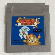 Burning paper Nintendo Game Boy Color Japanese Japan GB - $65.00