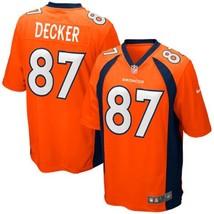 Youth Denver Broncos #87 Eric Decker Orange Team Color Limited Stitched ... - $54.99