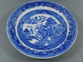 "Barker Bros. Ltd Longston England Blue Willow Saucer 5.75"" - $19.80"