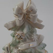 Lenox Holiday Traditions Christmas Tree Centerpiece Figurine Pastel image 3