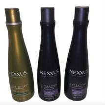 NEXXUS Keraphix Damage Healing 2 Conditioners 1 City Shield Shampoo 13.50 oz LOT - $36.99