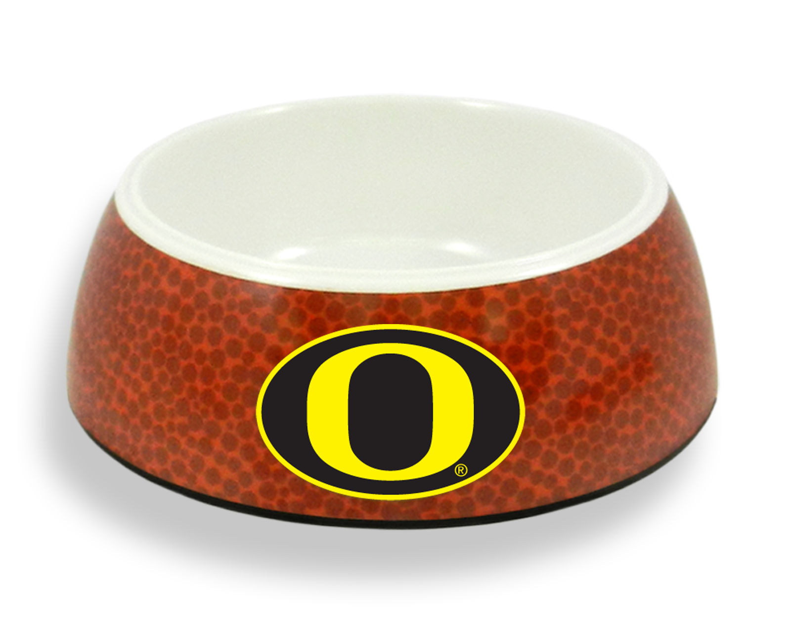 Primary image for Oregon Ducks Classic Football Pet Bowl**Free Shipping**