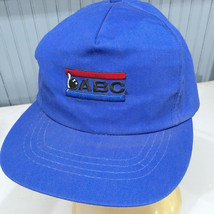 VTG ABC USBC Bowling Congress Snapback Baseball Cap Hat Made in USA - $18.35