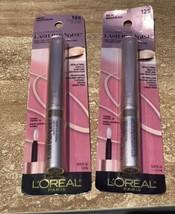 2 Pack L'oreal Voluminous Lash Paradise Felt Tip Liquid Eyeliner #125 Rose Gold - $8.90