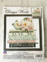 Design Works Love Is Books #2979 Counted Cross Stitch Kit - NEW Sealed - $18.95