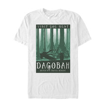 Star Wars Visit Dagobah Travel Poster Mens Graphic T Shirt - $10.99