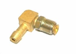"Big A Service Line 3-82244 Brass 1/4"" Thread x 1/4"" Metal Barbed Tube Fi... - $12.75"