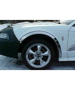 For Ford Mustang 1999-2004 QMI Polished Stainless Steel Fender Trim 271304 - $94.99