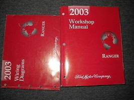 2003 FORD RANGER TRUCK Service Shop Repair Workshop Manual Set W EWD OEM  - $148.45