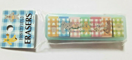 HONEYFIELD Eraser with Case Old SANRIO 1996' Retro Cute Rare - $22.16
