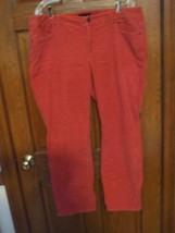Talbots Woman Petites Heritage Light Red Corduroy Jeans - Size 18WP - $22.76