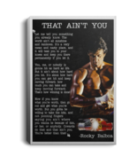 Rocky Balboa Speech That Ain't You CANPO75 Portrait Canvas .75in Frame - $25.00+