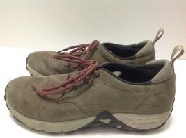 Merrell Womens Jungle Lace Dusty Olive Women's Sz 10 Comfort Trail Shoe Sneaker  - $39.59