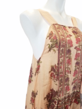 Free People Women's Floral Tunic Sleeveless Summer Dress Top Size XS image 2