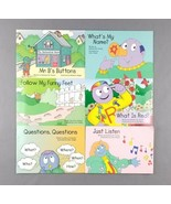 Let's Begin With The Letter People Lot of 6 Books Early Readers Abrams L... - $23.75