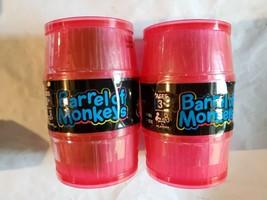 2 Hasbro Barrel Of Monkeys Neon Edition New (Usa Ships Free) - $18.77