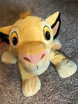 Large SIMBA Lion King Young Cub Disney Collectible Jumbo Plush Stuffed A... - $23.38