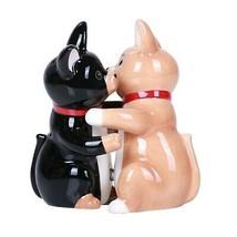 Hugging Chinhuahua Magnetic Ceramic Salt and Pepper Shakers Set - £10.20 GBP