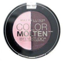 Maybelline Color Molten By Eye Studio 2 Color Eye Shadow Make-up - Rose ... - $7.19