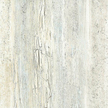 Reclaimed Boards Wallpaper Light Grey, Blue Norwall Wallcovering 35332 - $34.99
