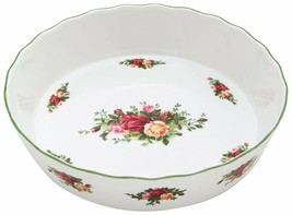 Royal Doulton Royal Albert Old Country Roses Pie Plate NEW IN THE BOX (S) - $79.19