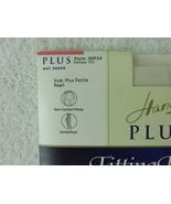 Vintage Hanes Plus Fitting Sheer Pantyhose Pearl Size Plus Petite Sandle... - $12.82