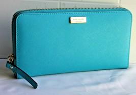 Kate Spade Newbury Lane  WLRU 1498 S738 (415) Zip Around purse leather - $72.34 CAD
