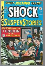 SHOCK SUSPENSTORIES #1 VF +EC COMICS Reprints of 1950's comic books/1993... - $4.95
