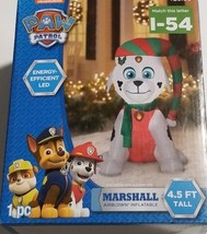 NIB (Gemmy) Paw Patrol Airblown Inflatables 4.5 ft. Marshall Wearing A S... - $31.68