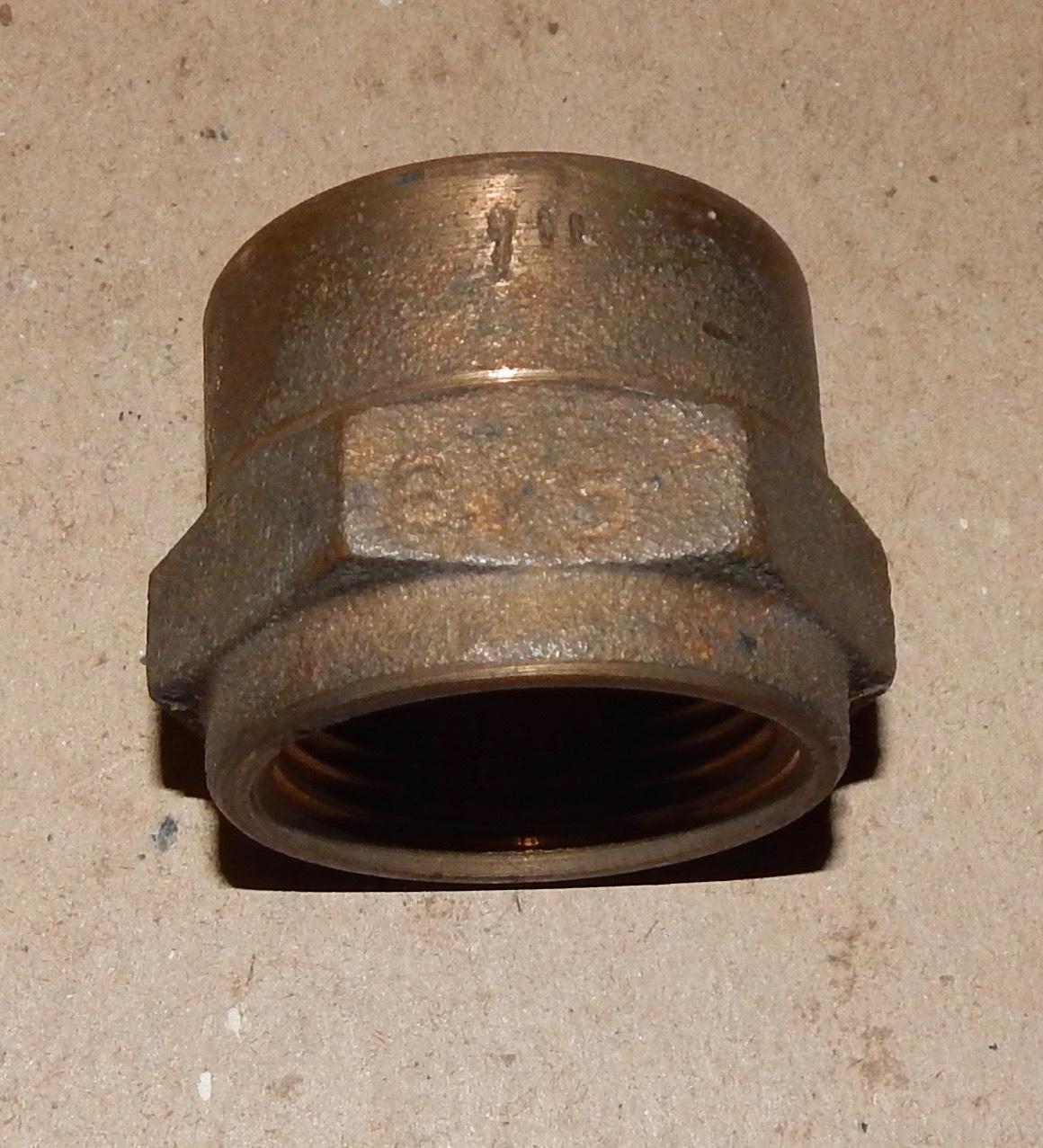 Brass Big Garden Hose Adapter 1\